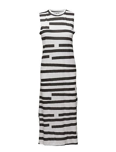 Twine Dress Odd Stripe