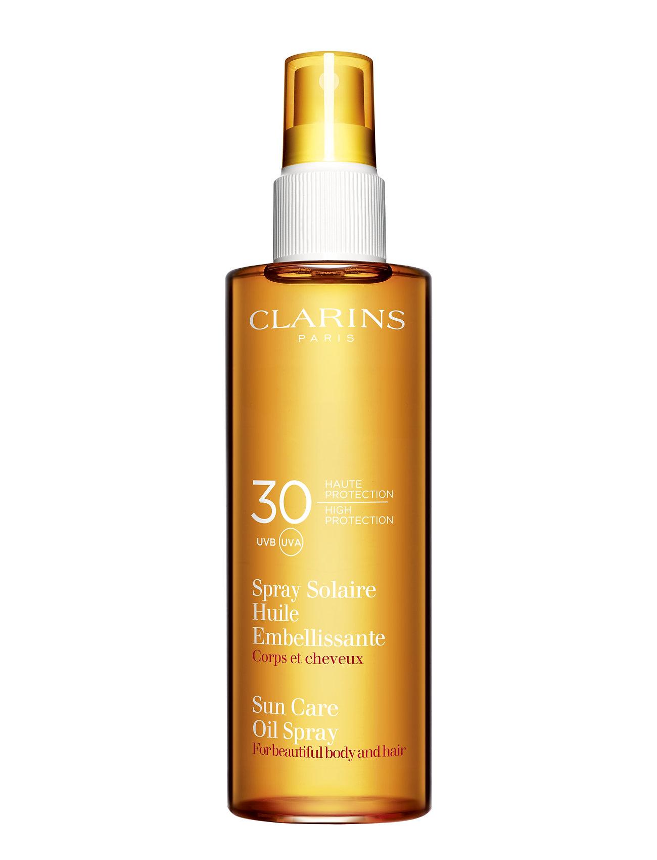 clarins – Clarins sun body radiant oil spray fra boozt.com dk