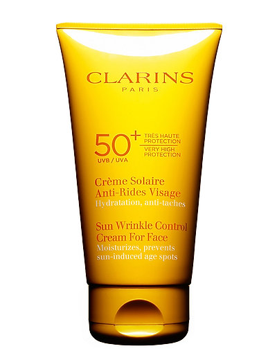 CLARINS SUN FACE WRINKLE CONTROL CR - NO COLOR