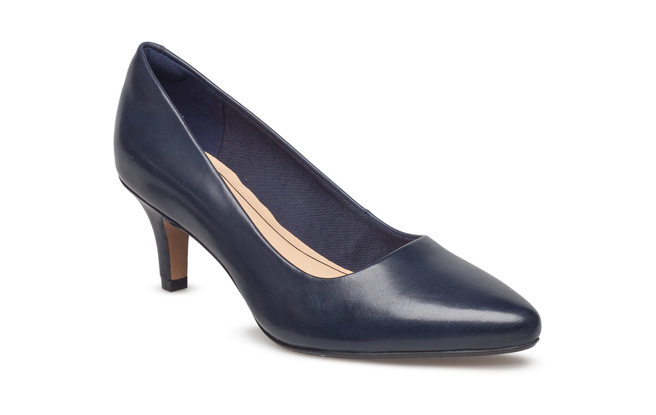 Clarks Damen Isidora Faye Pumps41 EUBlau (Navy Leather)