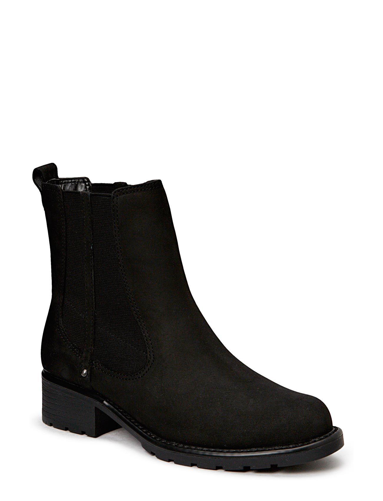 Orinoco Club Clarks Støvler til Damer i Sort læder