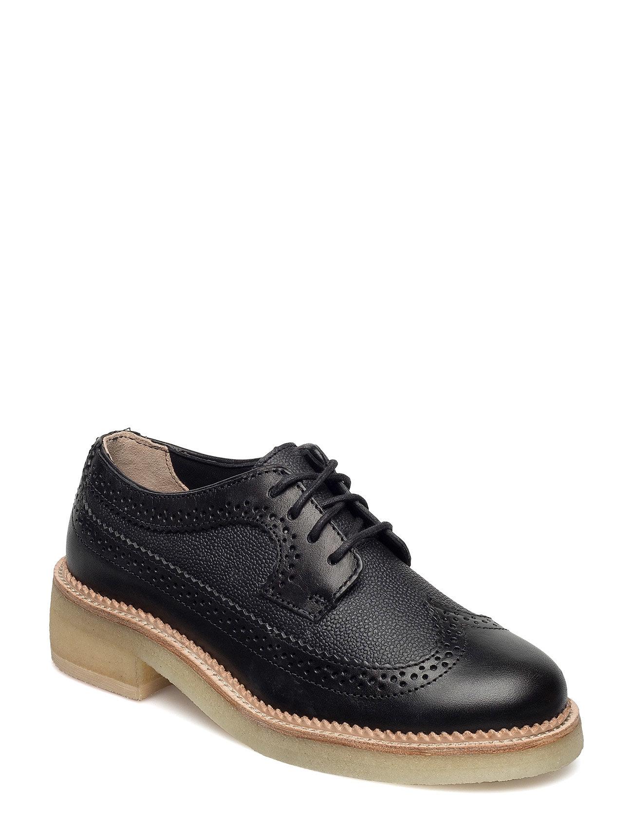 Maru Brogue Clarks Flade sko til Damer i Sort