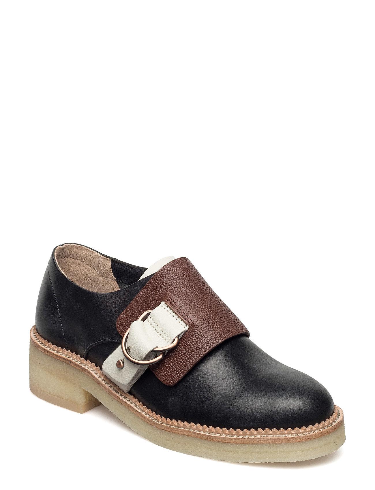 Maru Monk Clarks Flade sko til Damer i Black Combi