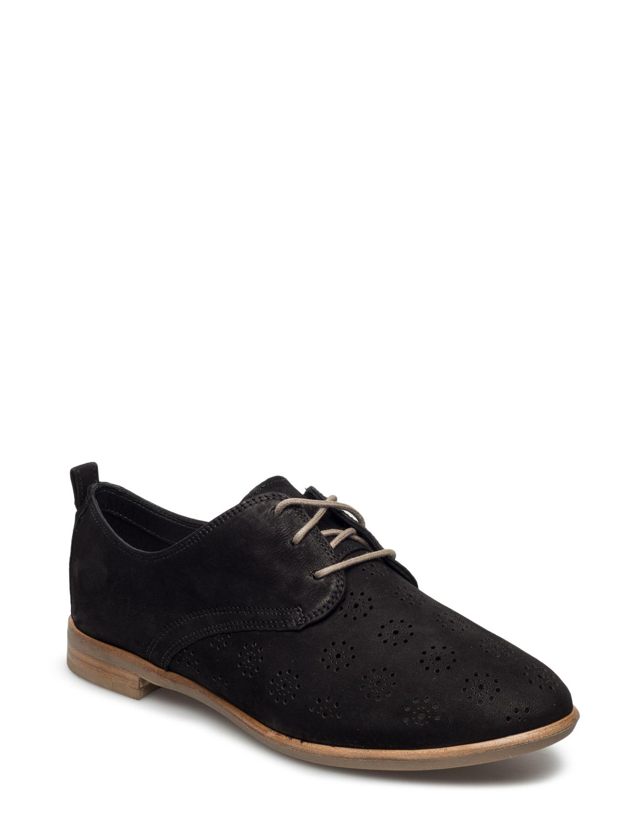 Alania Posey Clarks Flade sko til Damer i Sort
