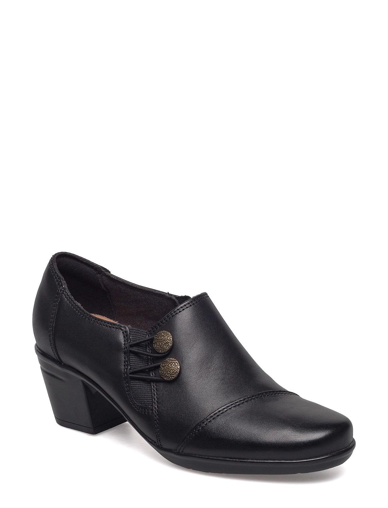 Emslie Warren Clarks Støvler til Damer i Sort