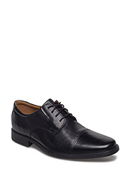 Tilden Cap - Black Leather