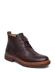 Trace Flare - BROWN LEATHER