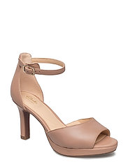Mayra Dove - Beige Leather