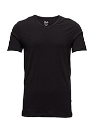 Highline Mens T-Shirt V neck - BLACK