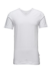 Highline Mens T-Shirt V neck - WHITE