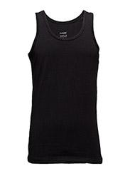 Highline Mens Tank Top O neck - BLACK