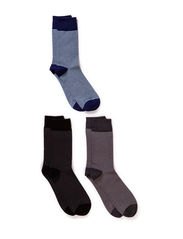 Mens Compsock Claudio Highline 3-pack - Stripe