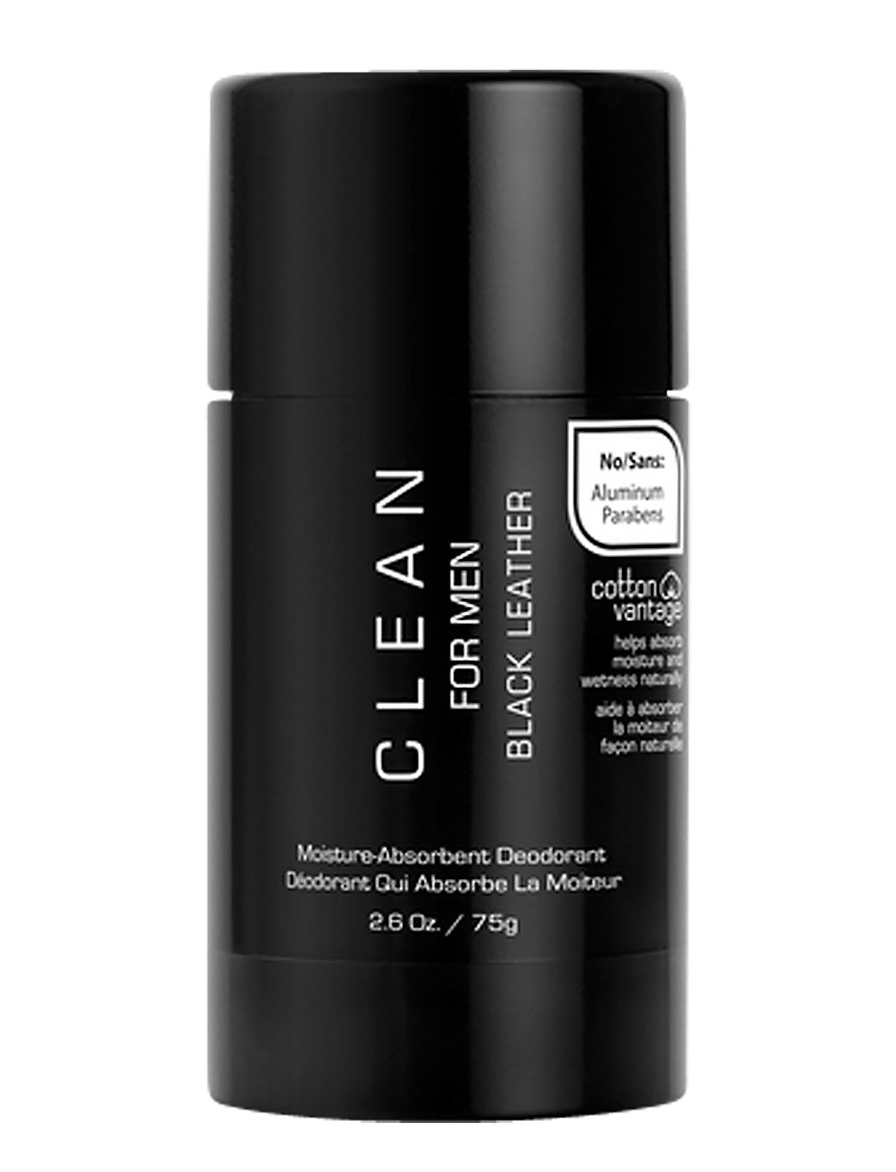 Men black leather deodorant stick fra clean fra boozt.com dk