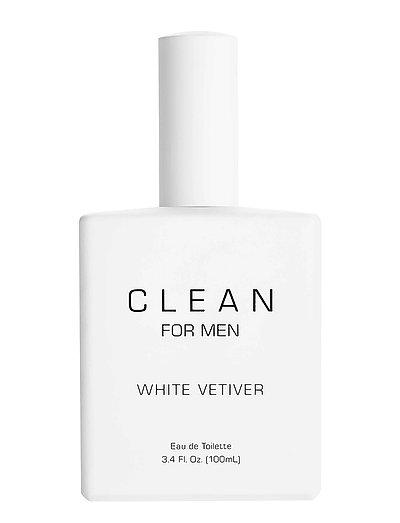 Men White Vetiver - CLEAR