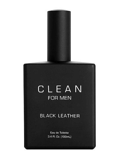 Men Black Leather - CLEAR