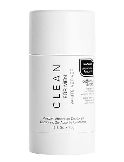Men White Vetiver Deodorant Stick - WHITE