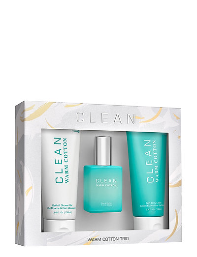 CLEAN Warm Cotton Deluxe Set - CLEAR