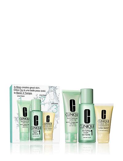 3-Step Skin Care Intro Set, Skin Type 1 - CLEAR