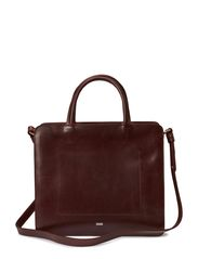 TRAPEZE BAG - BURGUNDY RED