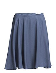 WOMENS SKIRT - DARK STEEL BLUE