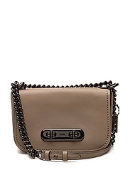 Glovetanned Leather Refresh Coach Swagger 20 Shoulder Bag - DK/STONE