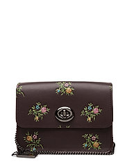 Coach - Cross Stitch Floral Print Bowery Crossbody- With Glitter