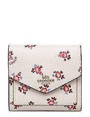 Floral Bloom Small Wallet - SV/CHALK FLORAL BLOOM