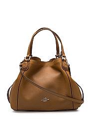 Coach - Polished Pebble Lthr Edie 28 Shoulder Bag