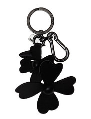 Tea Rose charm - BLACK