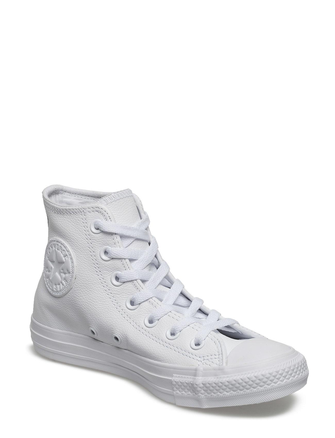 Ct A/S Lthr Hi Wht Monoch Converse Sneakers til Herrer i hvid