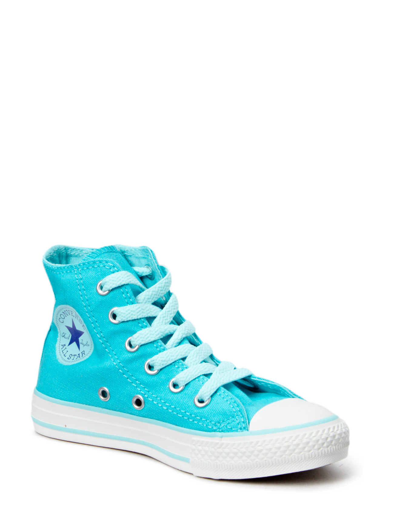 All Star Side Zip Kids Hi