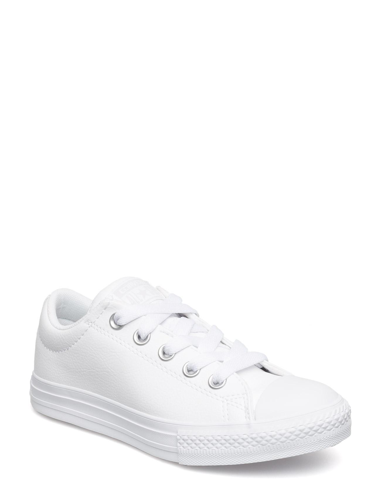 Ctas Street Slip White/White/White