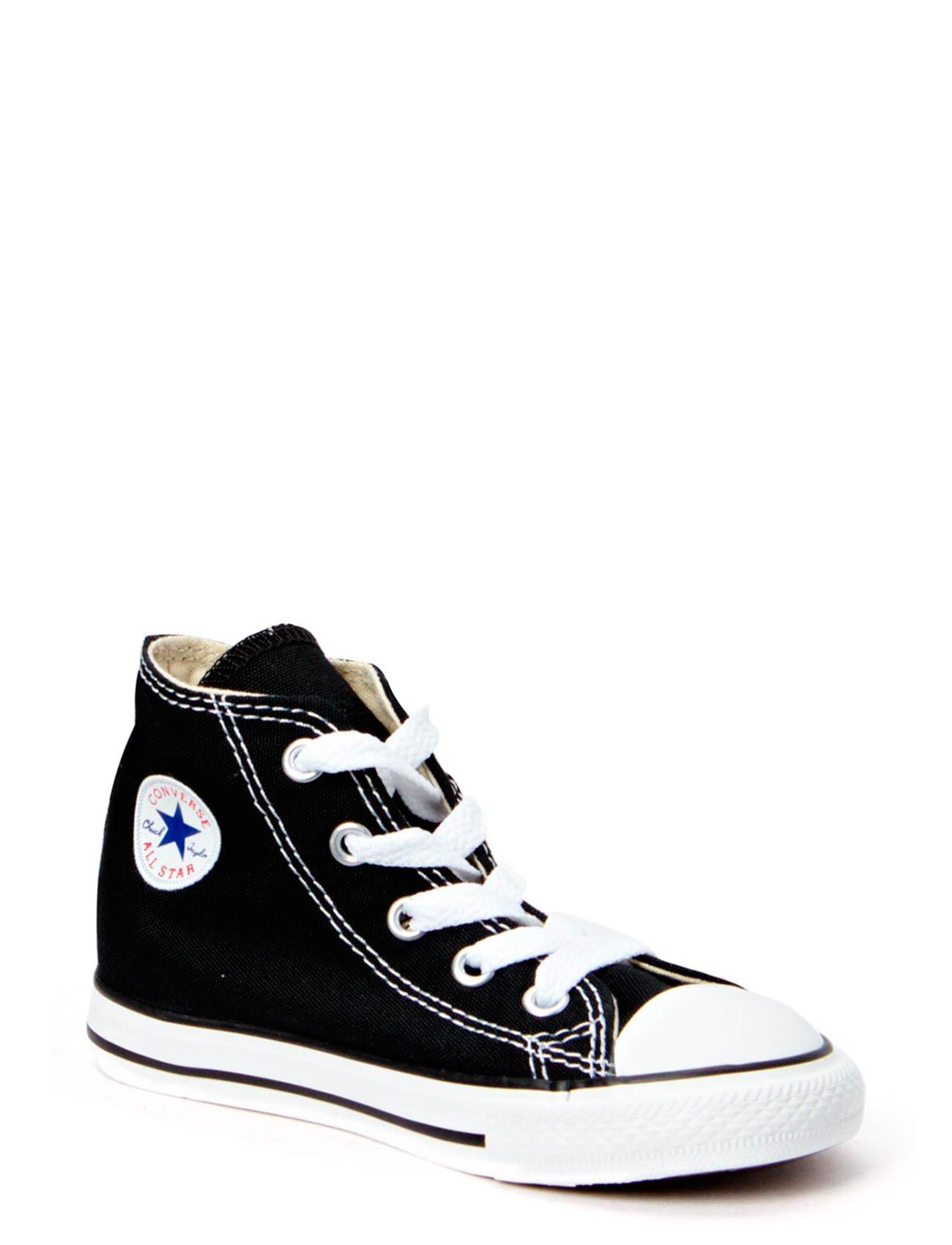 Small Star Canvas Hi Converse Sko & Sneakers til Børn i Sort