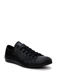 All Star Mono Leather Ox - Black