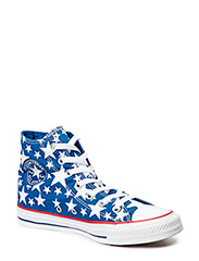 All Star Print Stars Hi - Midnight Hour/White