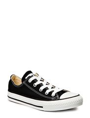 All Star Canvas Ox - BLACK 1