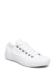 All Star Canvas Ox - White Monochrome