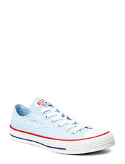 All Star Wmns Ox - Fountain Blue/White