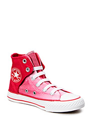 All Star Easy Kids Hi - Berry Pink/White