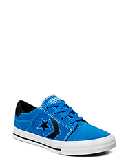 Cons Tre Star Kids Leather Ox - Vision Blue