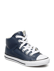 AS High Street Leather Hi - ATHLETIC NAVY/NATURAL/WHITE