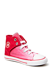 Small Star Easy Hi - Berry Pink/White