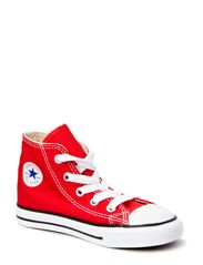 Small Star Canvas Hi - RED