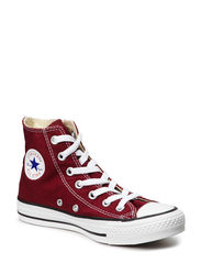 All Star Canvas Hi - MAROON