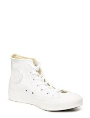 All Star Mono Leather Hi - White