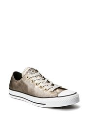 All Star Leather Wmns Ox - Portrait Gray
