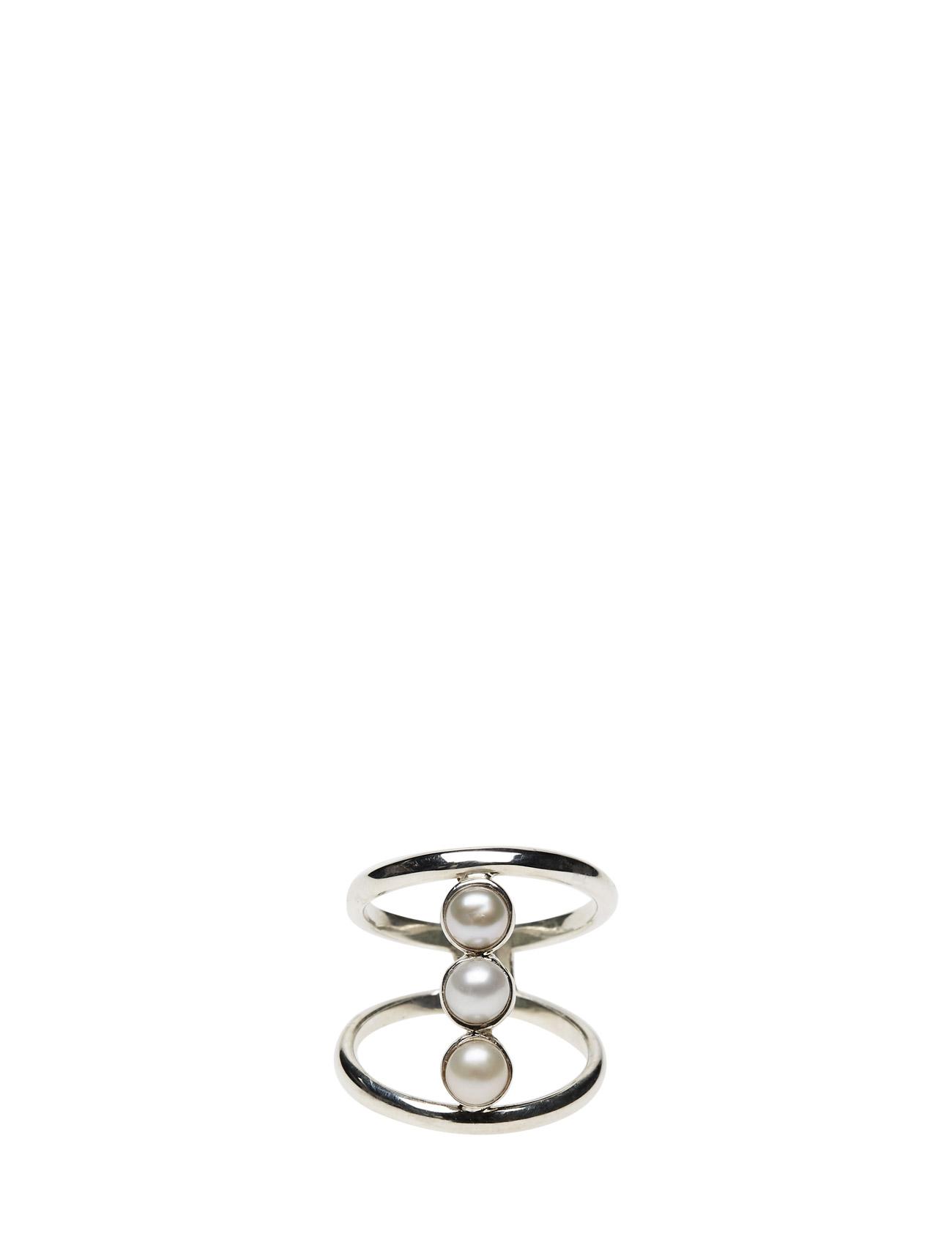 Refined Pearl Double Ring Classic Cornelia Webb Smykker til Kvinder i