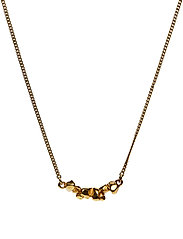 CHARMED NECKLACE LARGE - 52 GOLD PLATED