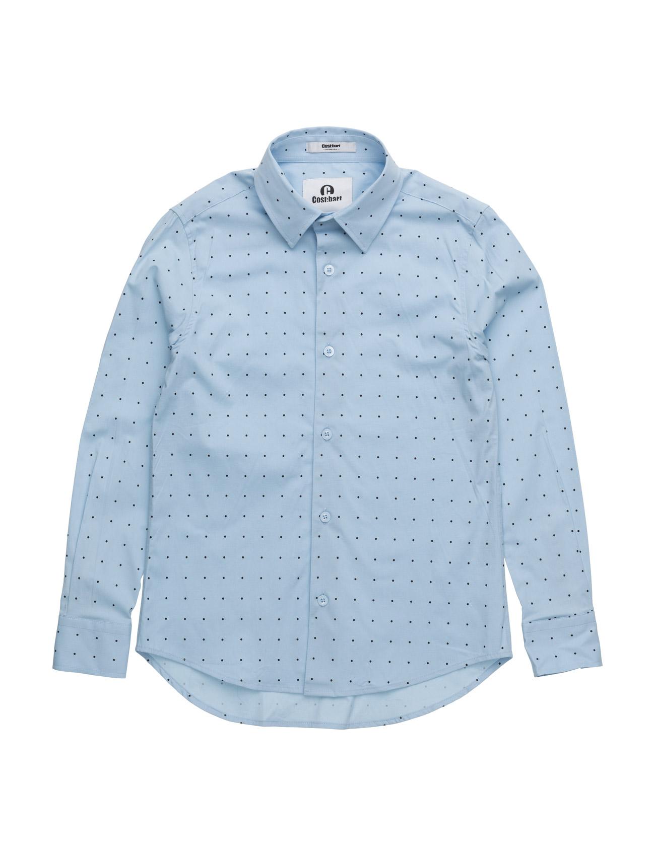 Kaiser Shirt CostBart  til Børn i Hvid