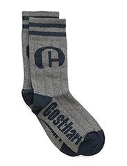 Socks Lion - GREY/BLUE